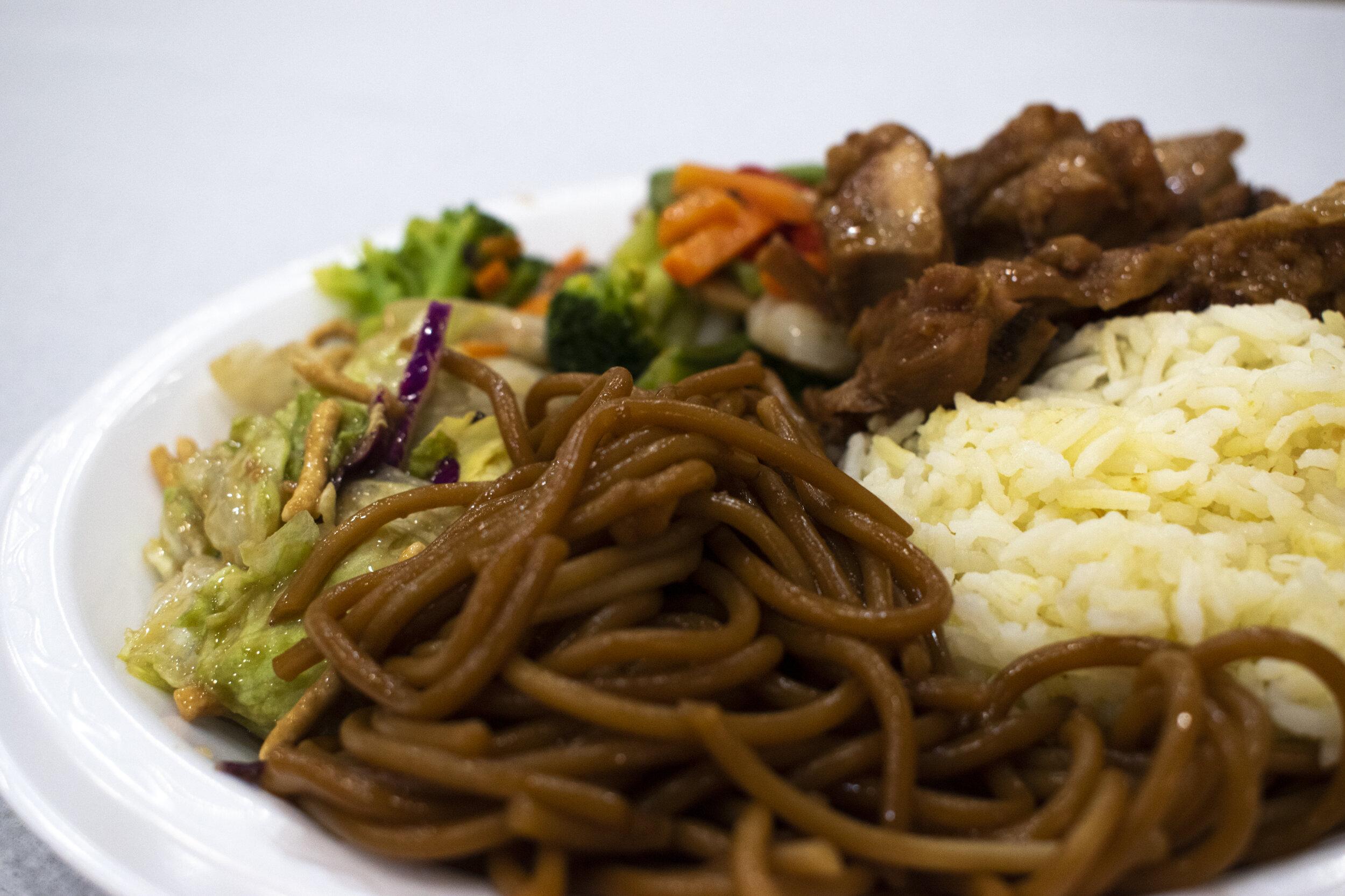 Hibachi Meal