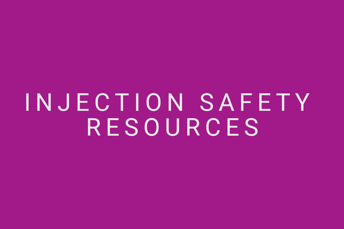 Injection-Safety-Resources
