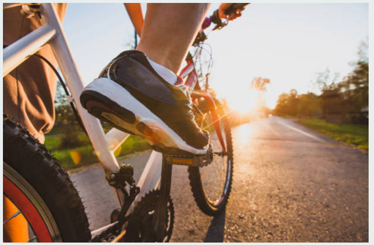 Walking & biking: - Dedicated biking and pedestrian paths promote car-free activities and health living.