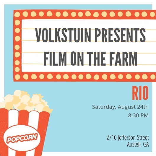 🎥 Coming to a farm near you 🎥  And that farm is Volkstuin! . Come spend your Saturday night with us when the heat is finally at bay and we can enjoy the beautiful outdoors! . .  #eatlocal #urbanfarm #urbanfarming #healthyhappylife #nourishyourself #dailyfoodfeed #liveauthentic #georgiagrown #farmtotable #farmtoface #freshfood #freshproduce #localgoods #austell #cobbcounty #farmersmarket #shippingcontainer #volkstuin #knowyourfarmer #locallygrown #craftbeer #supportlocal #shoplocal #exploregeorgia #austellga #atlantassweetspot