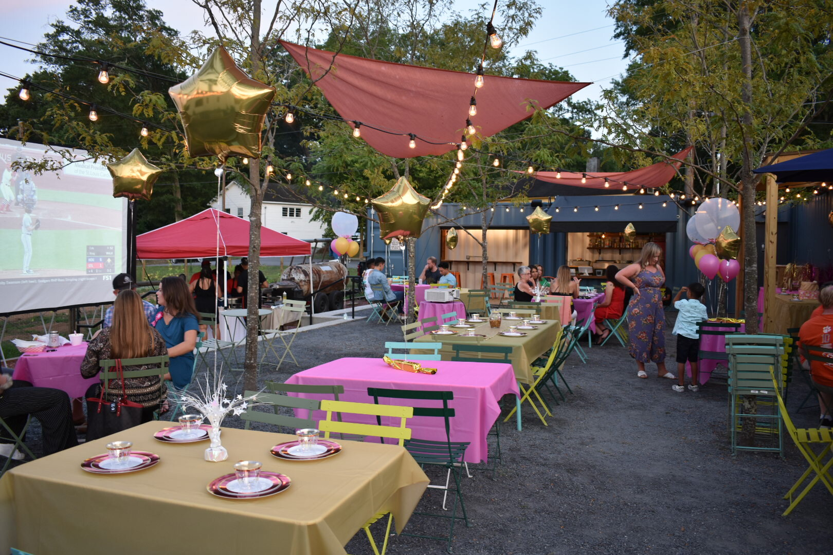 rent the patio - private parties