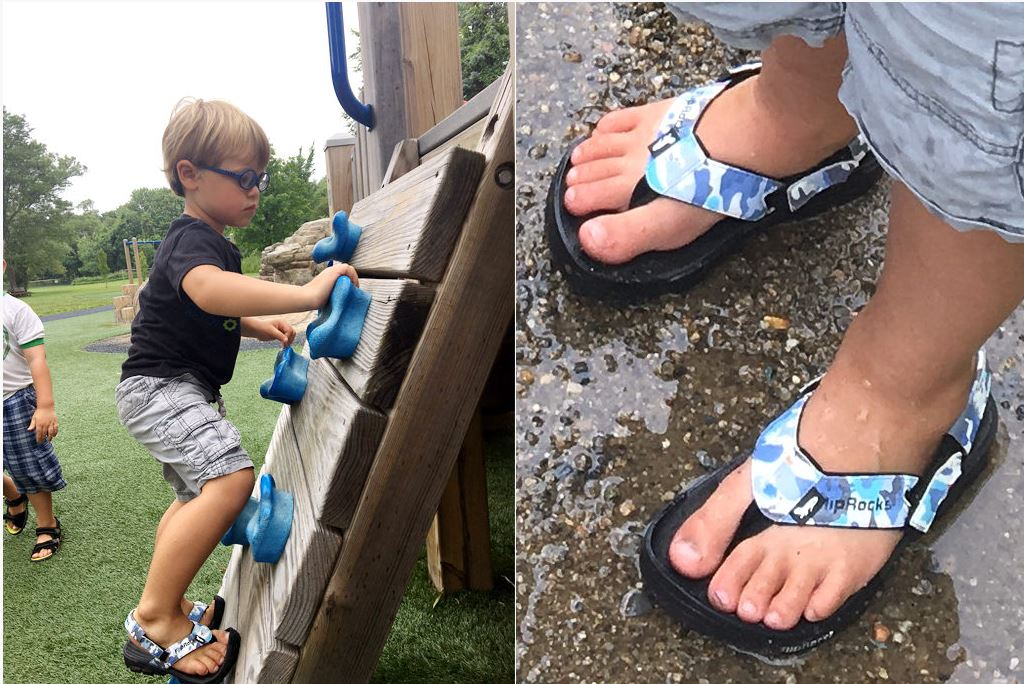 FlipRocks for Kids - These unique convertable flipflops are also offered in kids sizes for boys and girls.