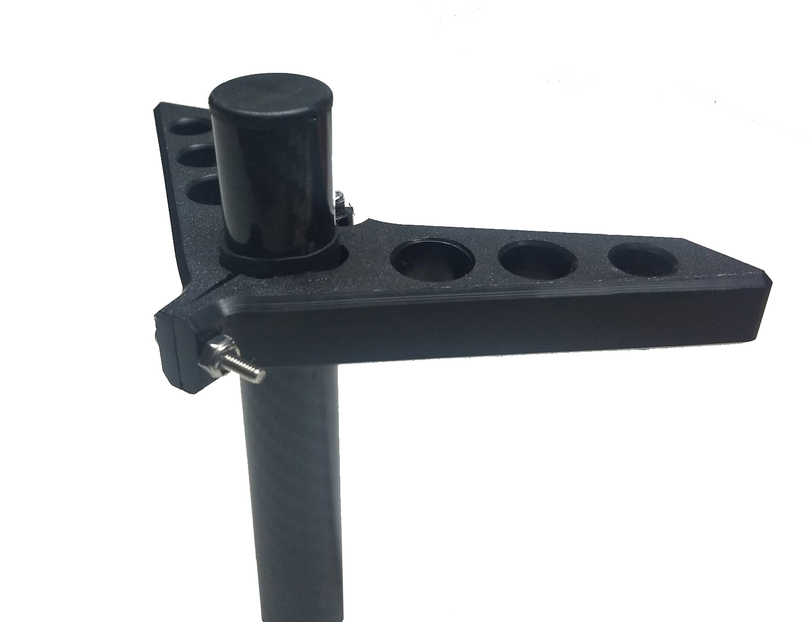 How is it different? - Most steering brackets put the attachment point in-line with the motor shaft. The V-Force puts the attachment point 4 inches behind the motor shaft, which means a dramatic increase in the turning radius of the motor, and your kayak.
