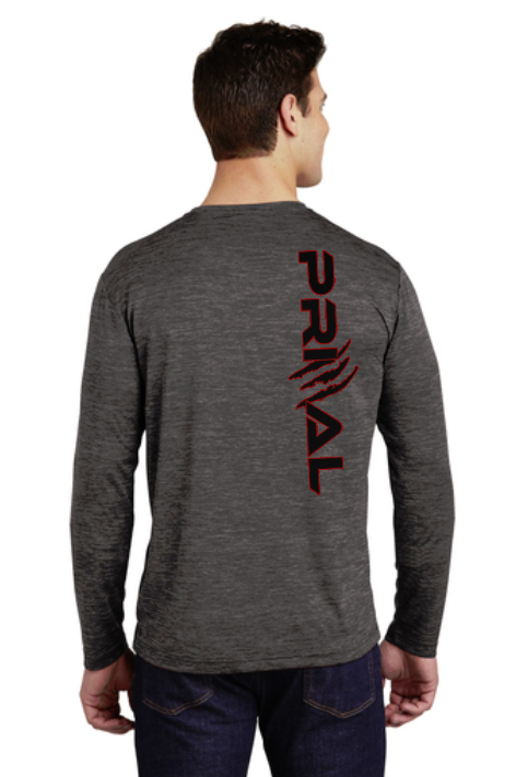 """Quest 2 - This color-locking tee has a """"soft hand"""" feel, wicks moisture, resists snags and is energized with an allover heather pattern.4.1-ounce, 100% polyester jersey with PosiCharge technologyRemovable tag for comfortSet-in sleevesComes in Granite and Red Granite"""