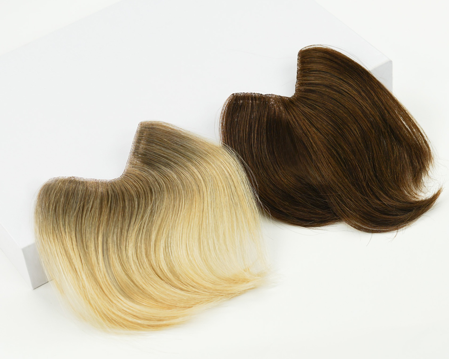 Joi Bangs - Before you decide to chop your beautiful hair for bangs, try our no commitment (and most importantly no regret!) bang additions for a total transformation.