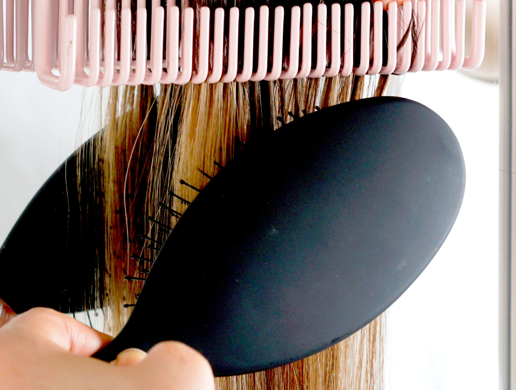 Brush, style and wash your extensions.