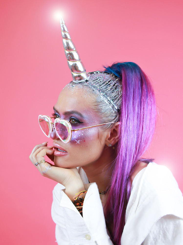 DIY: Unicorn Hair