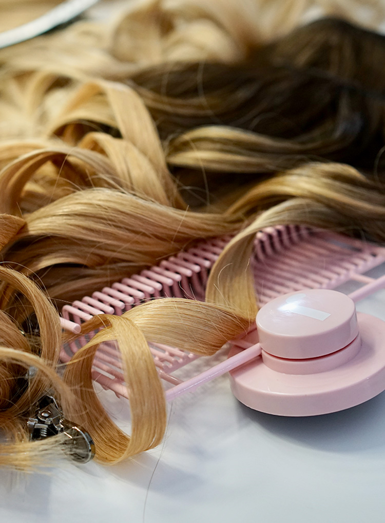 Clip-Hair Extension Maintenance