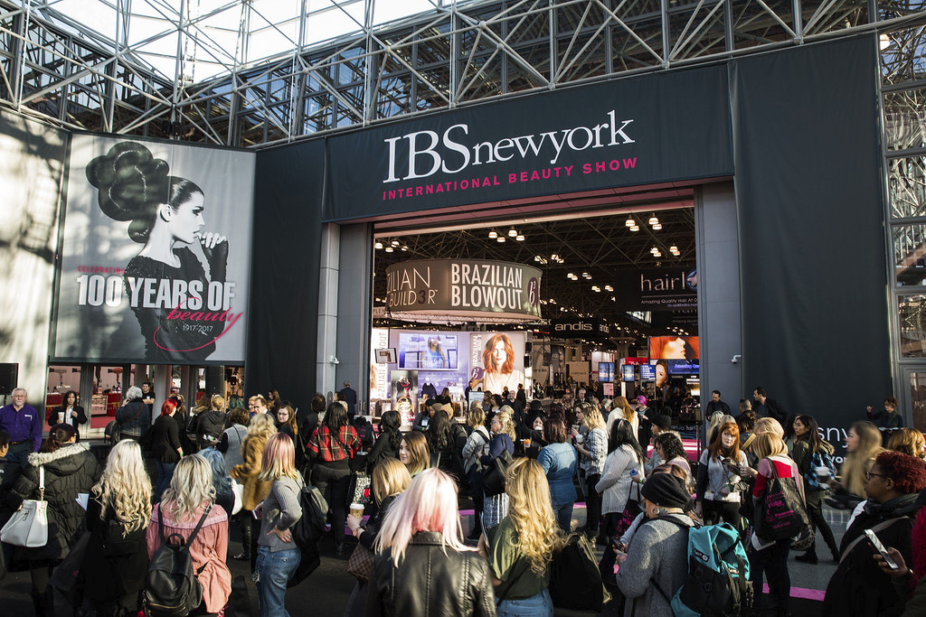 Find great products at beauty trade shows like IBS New York.