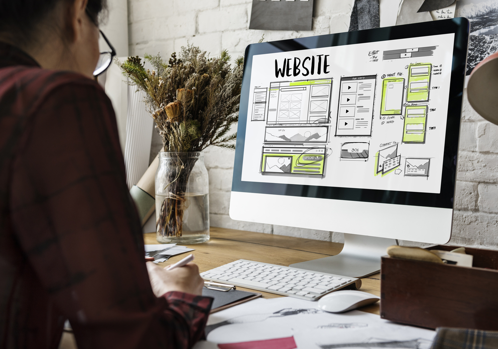 if you don't have a website, you're practically invisible to new customers.