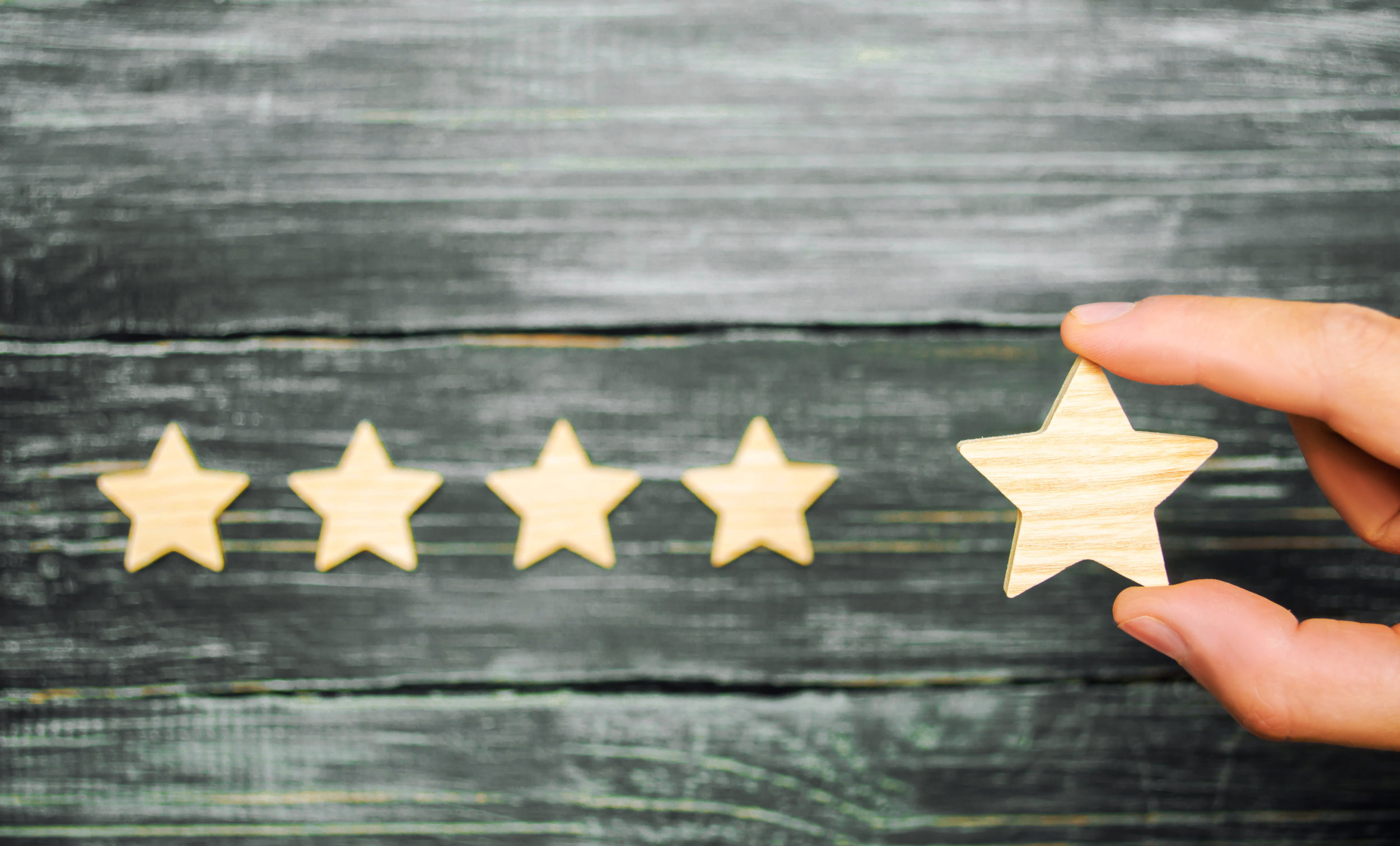 Your reviews are a reflection of the trust you have in your clients.