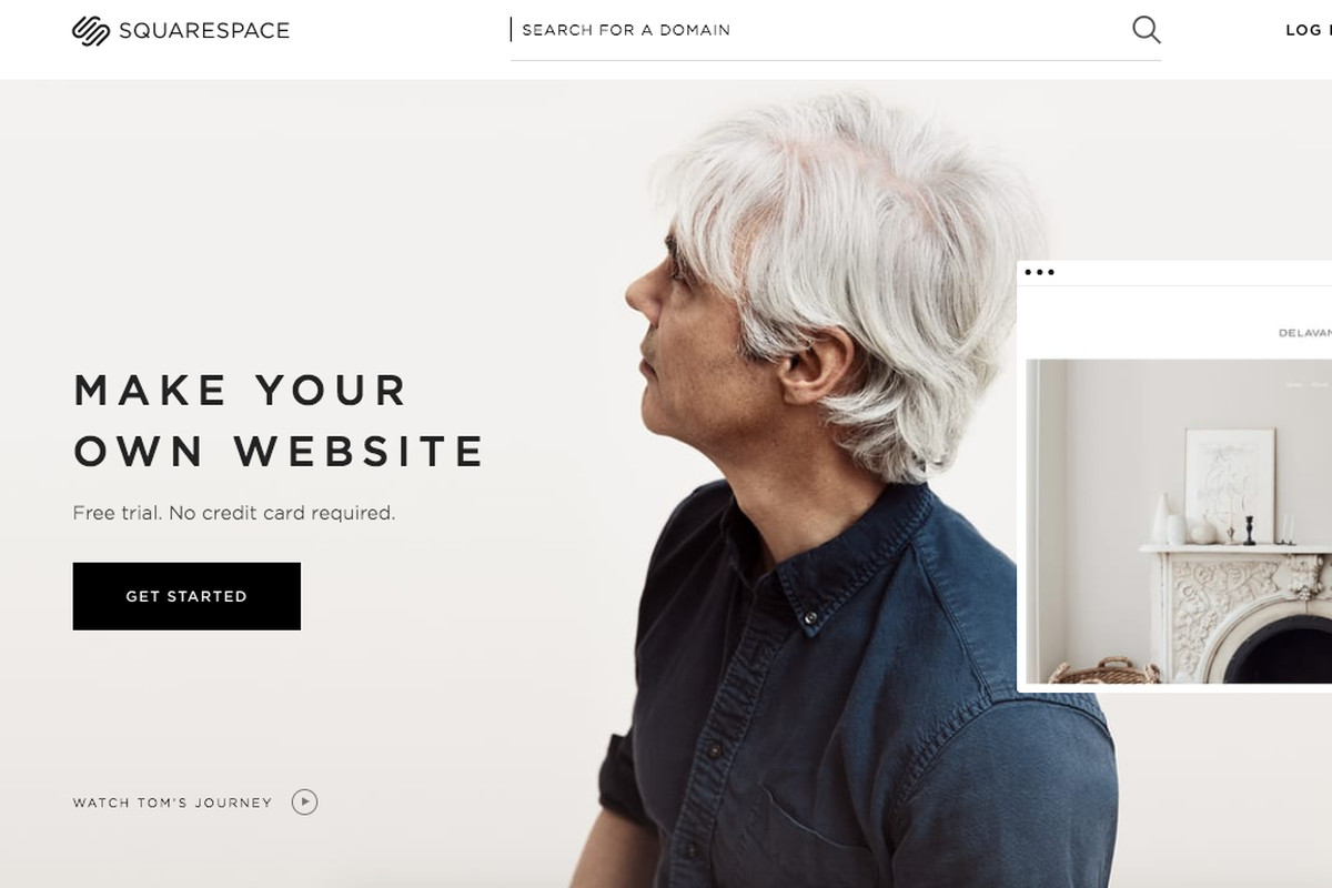 Squarespace is an all-in-one platform to design beautiful looking websites.