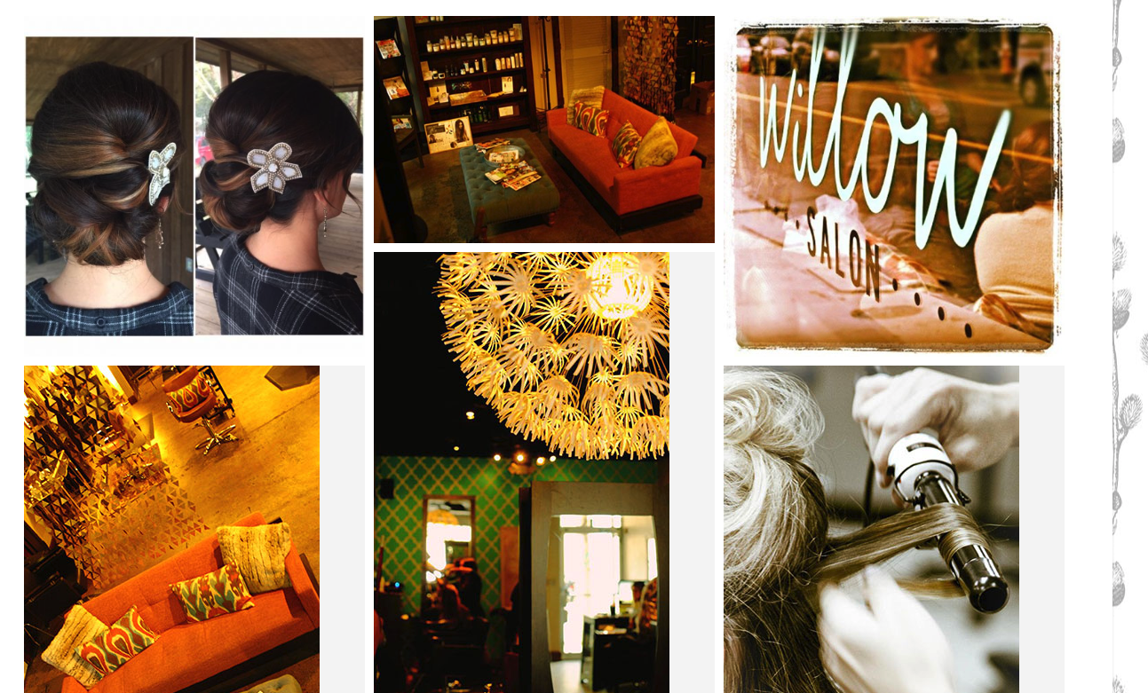 Willow Salon  in South Carolina shows off the different aspects of the salon in their Photo Gallery.