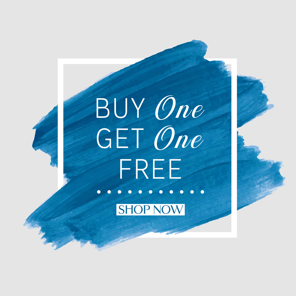 """""""Buy One, Get One"""" deals are effective because of the perception of value of a free product."""