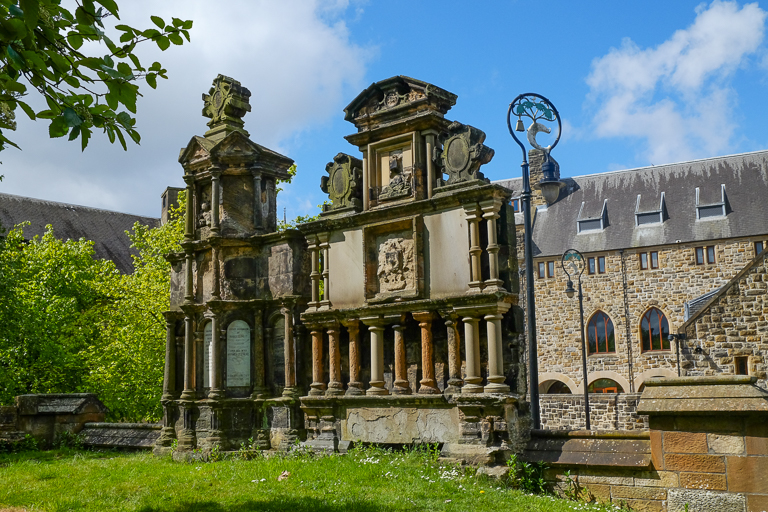 Glasgow's Necropolis Cemetery