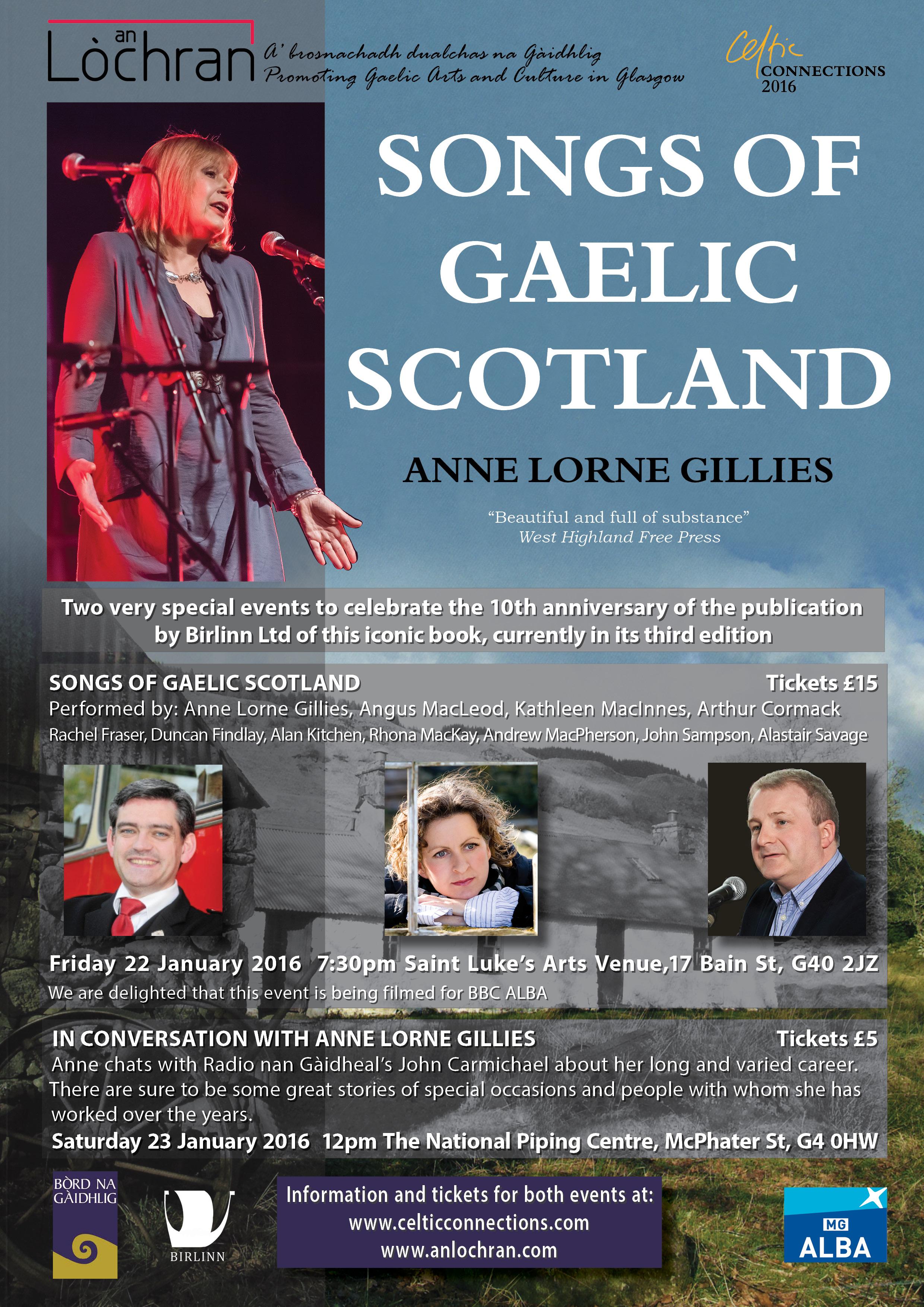 SONGS OF GAELIC SCOTLAND