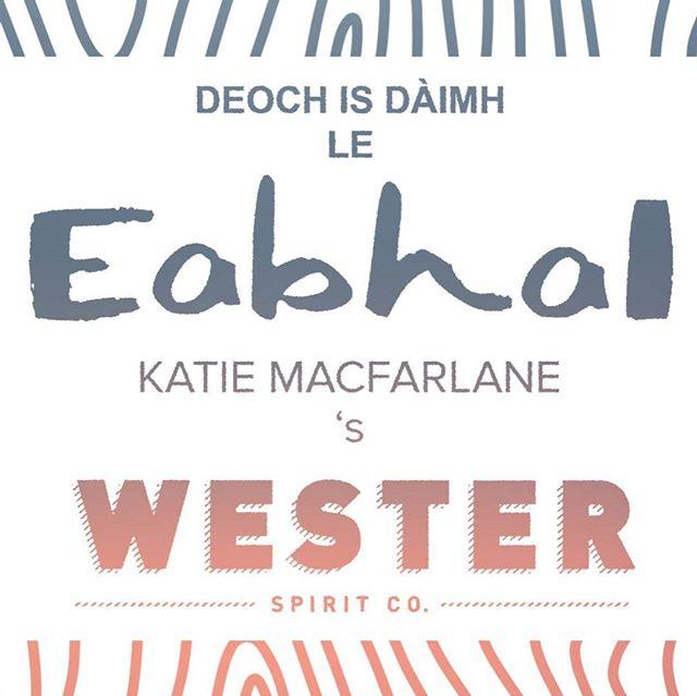 Thigibh a-nuas gu taigh-stàile ùr Ruma Phàrtaig airson cruinneachadh ceòl beò fìor mhath tro mheadhan na Gàidhlig.  Experience a night of live music with Eabhal and Katie Macfarlane in Partick's new rum distillery.  #gaelic #gaidhlig #westendfestival2019 #eabhal #katiemacfarlanemusic #westerspiritco #glasgow #ceol
