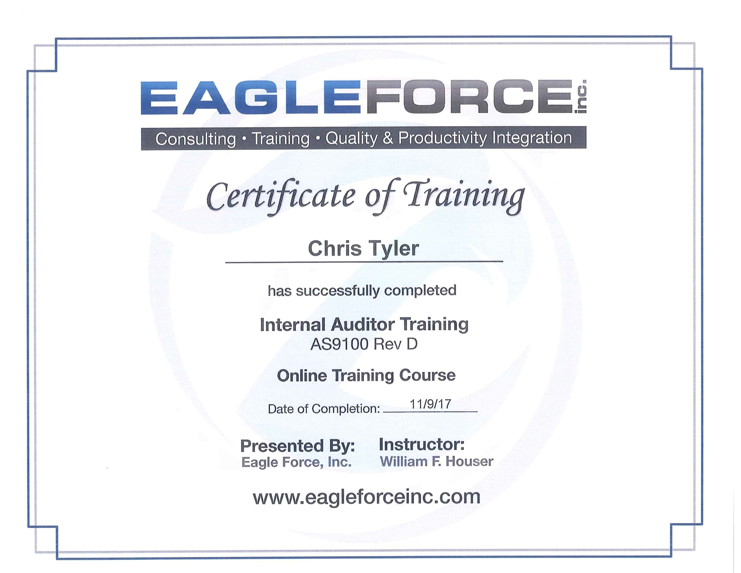 Chris Tyler-Certificate of Training.jpg