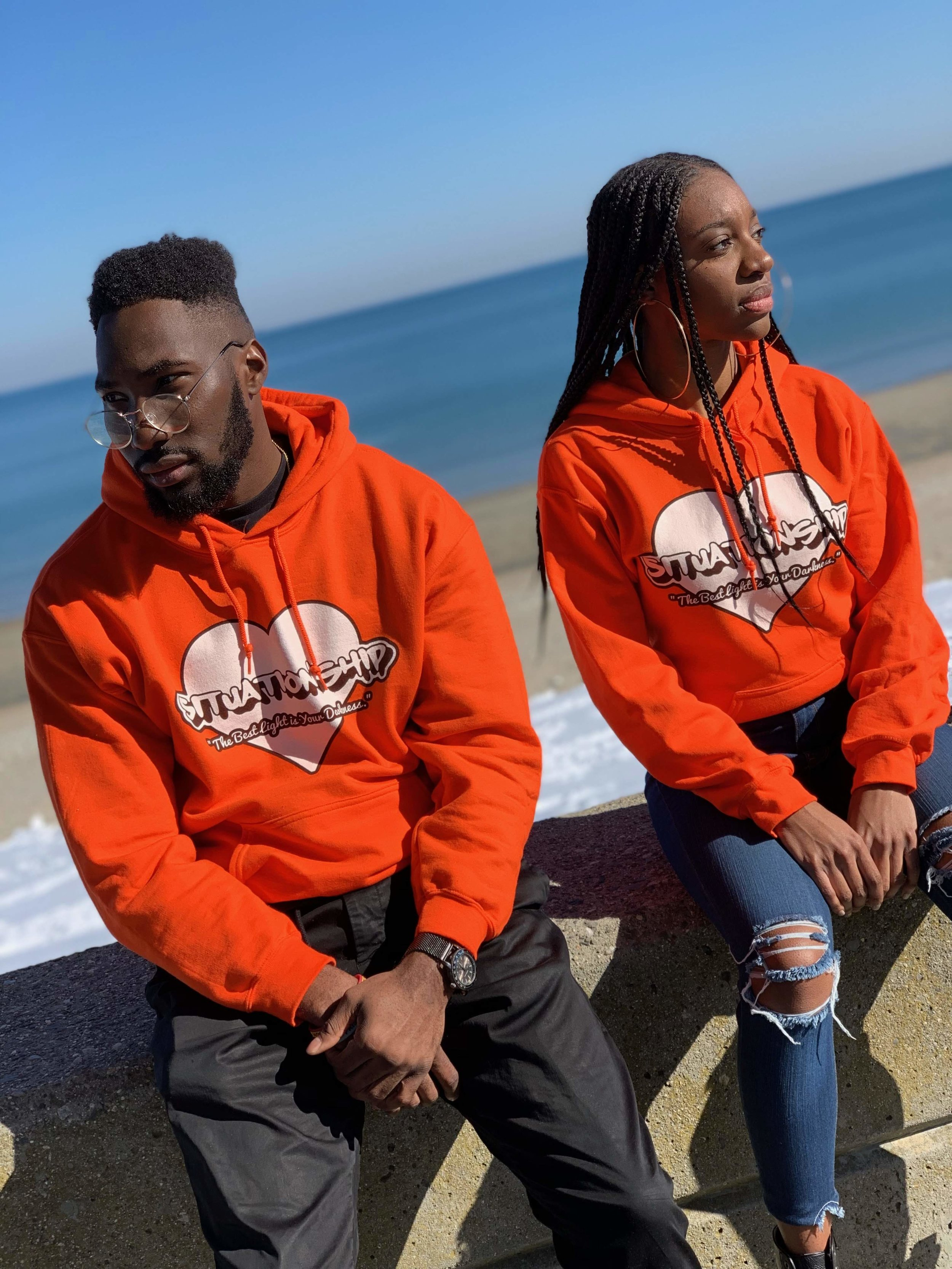 "- Limited Quantity! Buy a ""Situationship"" Hoodie!"