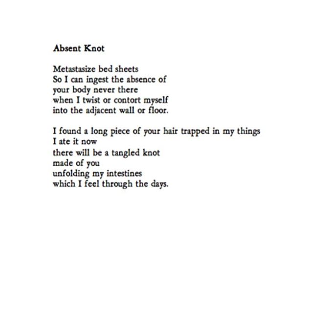 absent knot by @marcusfartist is in issue one! available now! #newpoem #literarymagazine #newpublication #poetsofinstagram #readthisnow #poem #poet #poetry #poetrycommunity