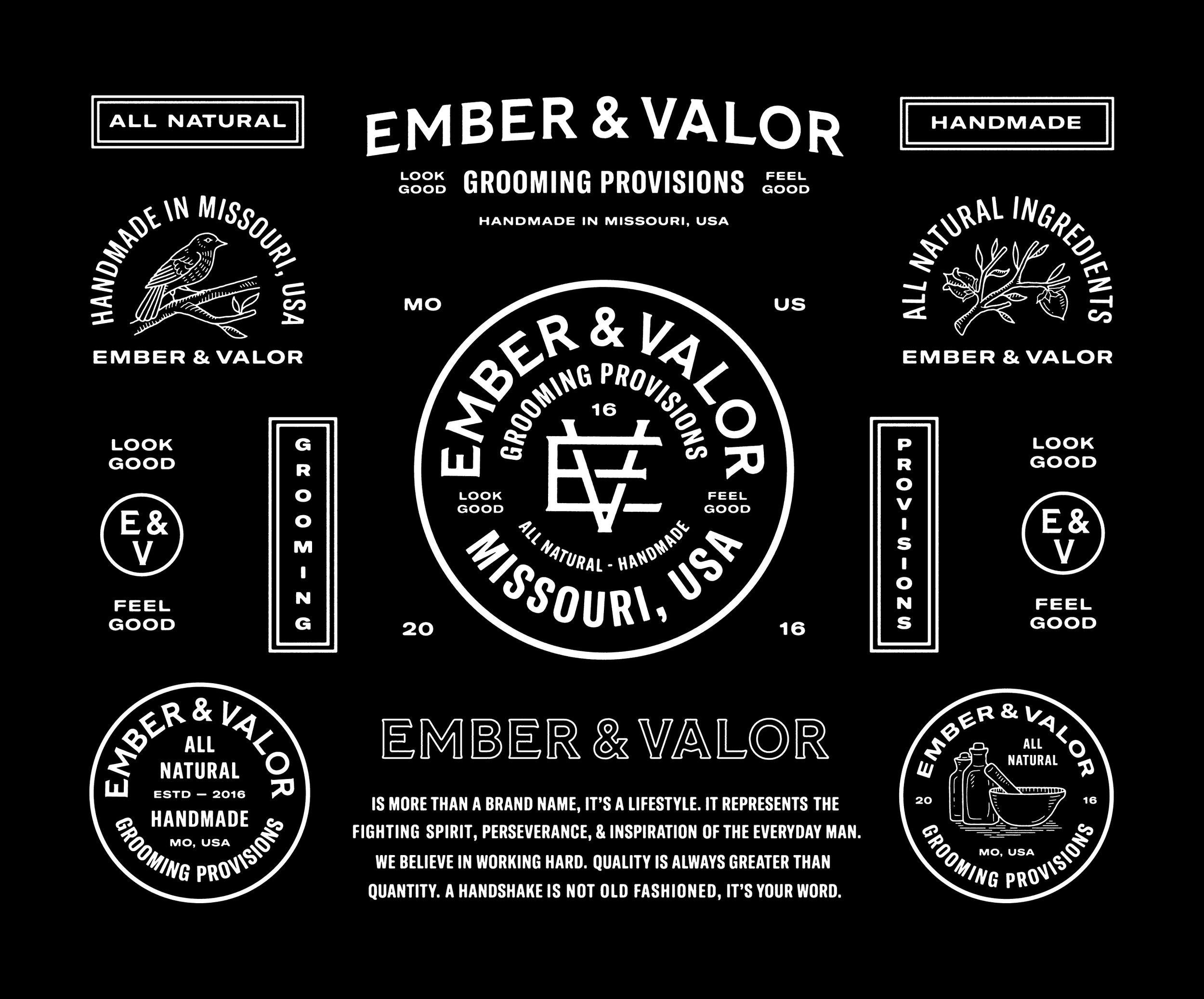 Studio Freight - Ember & Valor Identity Sheet