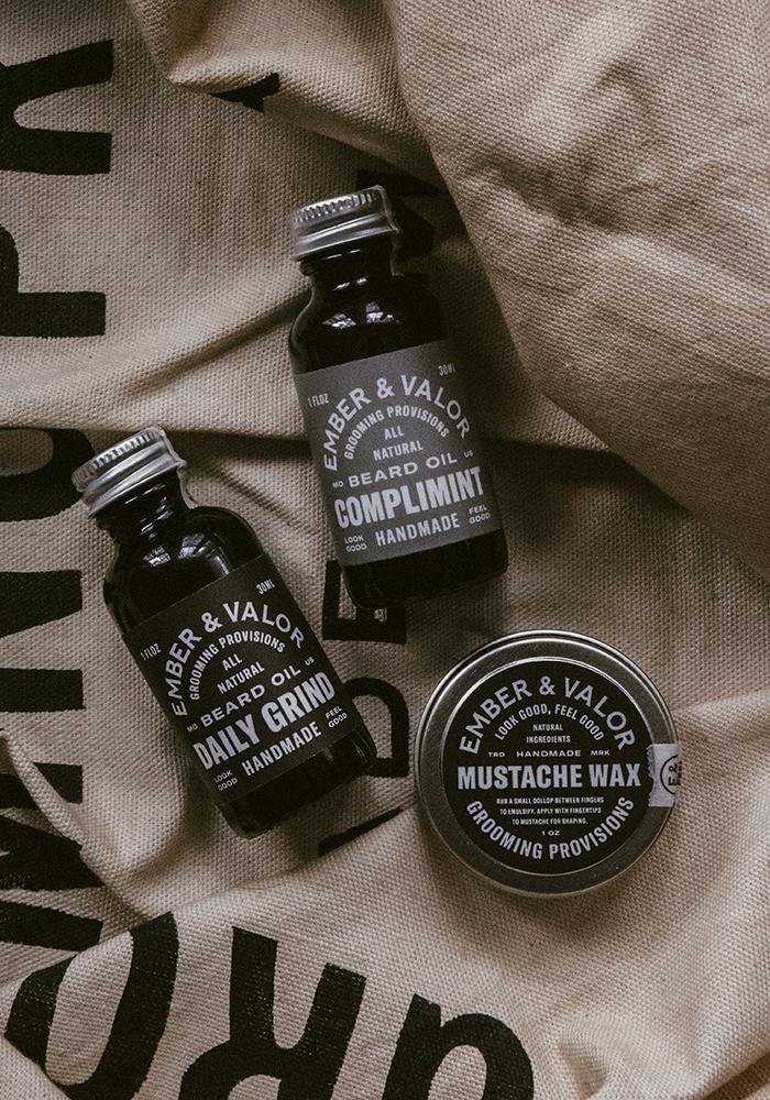 Studio Freight - Ember & Valor Mustache Packaging