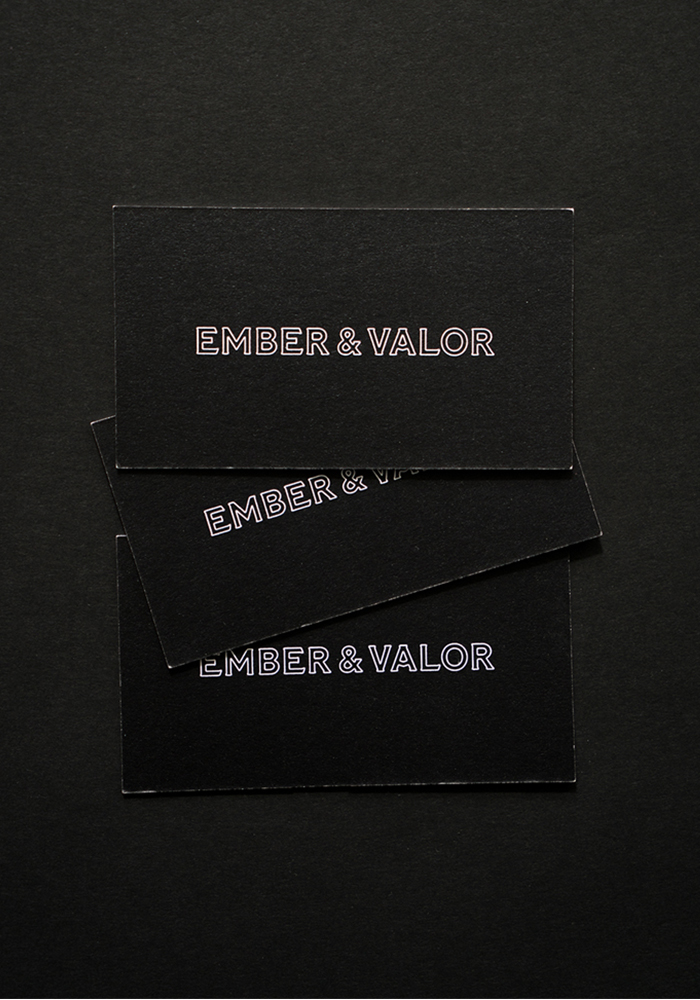 Studio Freight - Ember & Valor Business Cards
