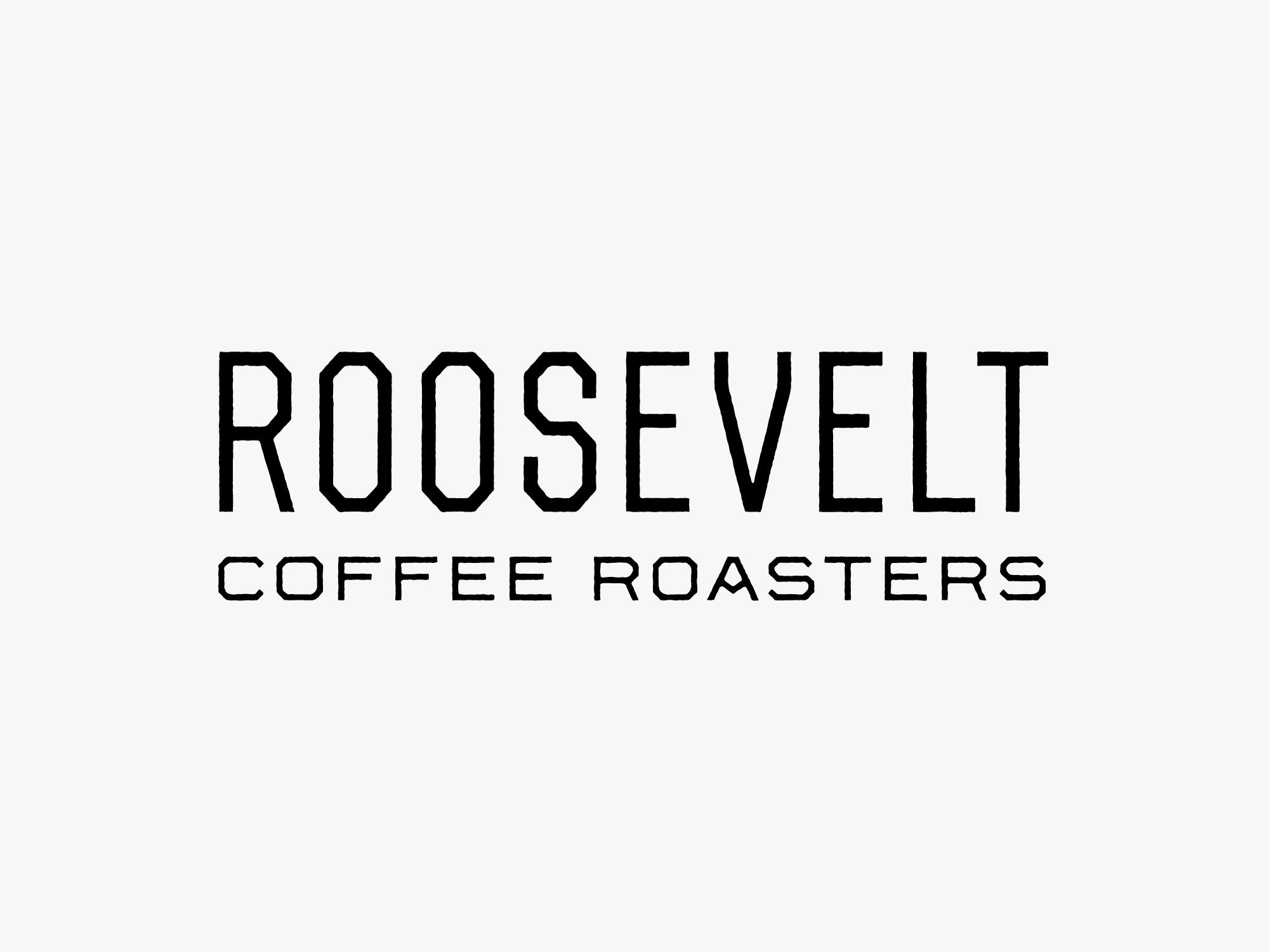 Studio Freight - Roosevelt Coffee Wordmark