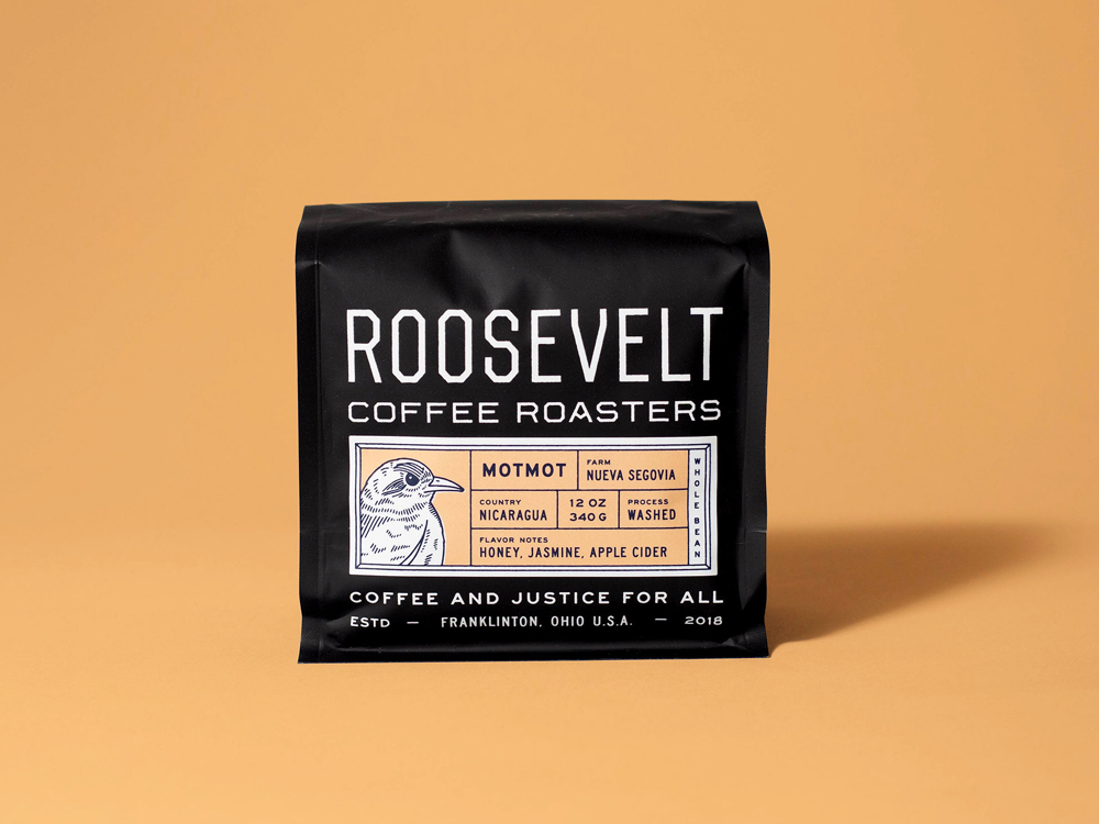 Studio Freight - Roosevelt Coffee Nicaragua Packaging