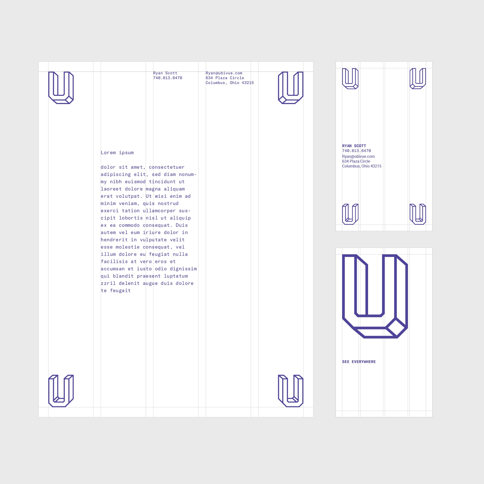 Studio Freight - Ubivue Collateral