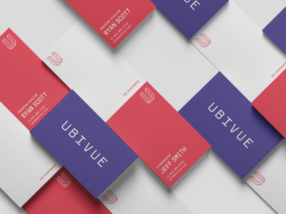 Studio Freight - Ubivue Business Cards