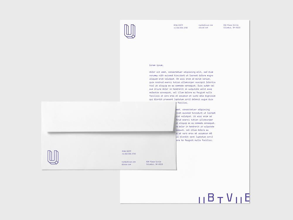 Studio Freight - Ubivue Letterhead