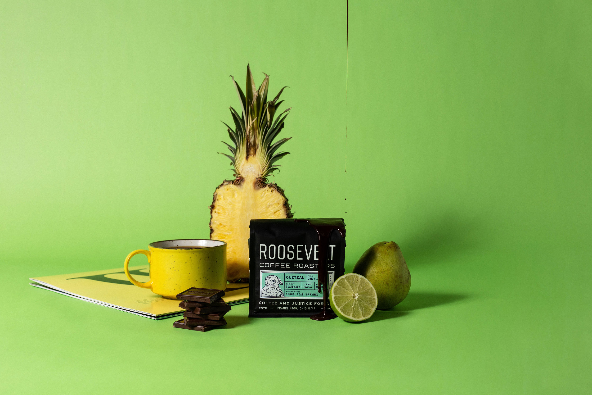 Studio Freight - Roosevelt Coffee Guatemala Packaging