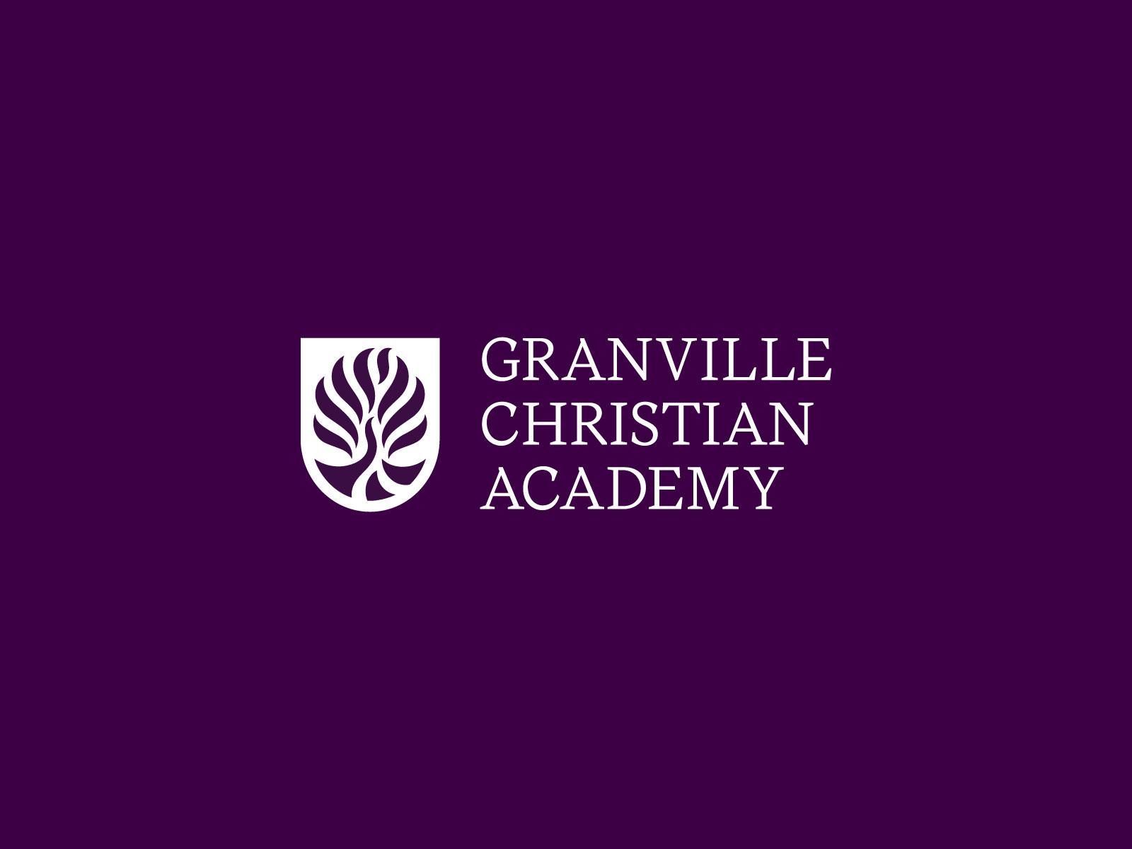 Studio Freight - Granville Christian Academy Logo Banner