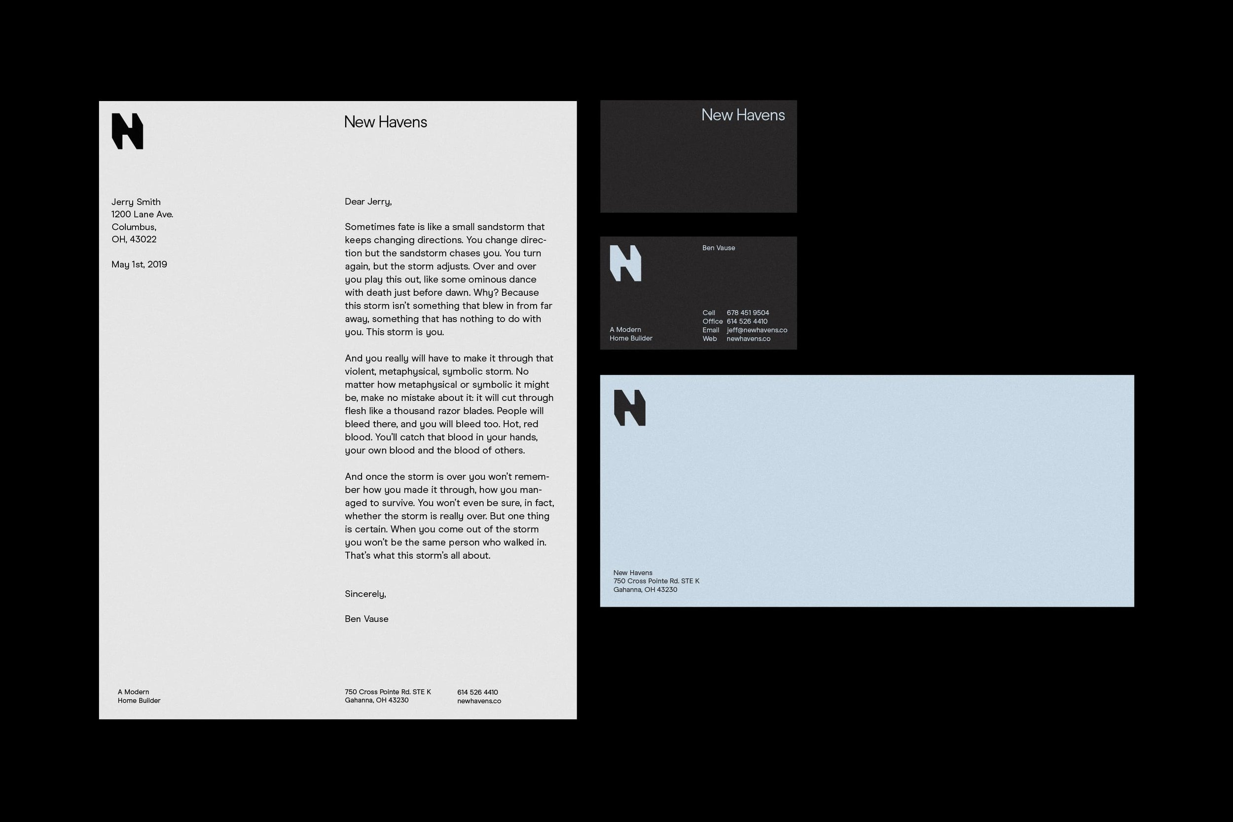 Studio Freight - New Havens Stationery