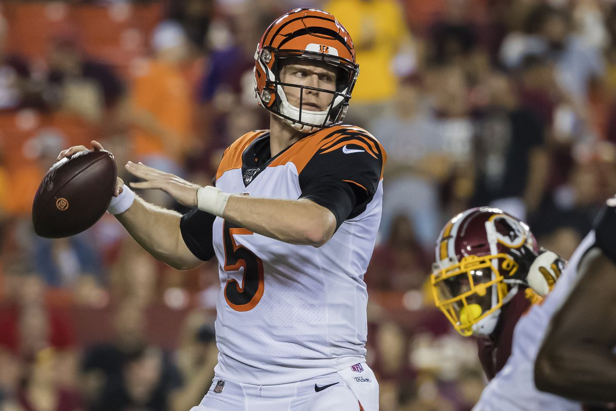 Ryan Finley - Bengals rookie, Ryan Finley, had an impressive perfomance versus the Redskins. He went 20/26 passing, with two TDs.
