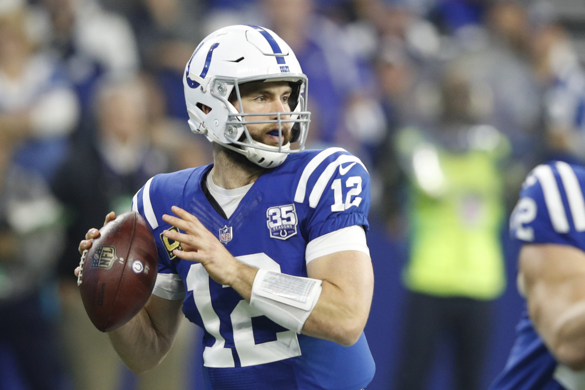"""Andrew Luck - Andrew Luck is retiring from the NFL after being """"mentally worn down"""".-Adam Schefter"""