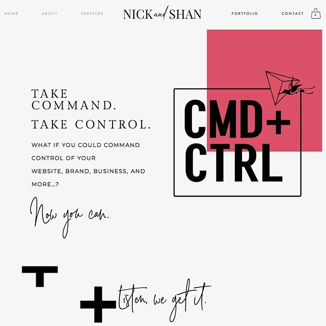 With only 6 seats at Nick's kitchen table they are gonna go fast! Going live tomorrow morning!! So excited to give people the tools to CMD+CTRL of their business by controlling their site!  And we are crazy lucky to do it as best friends!  See you tomorrow kids!
