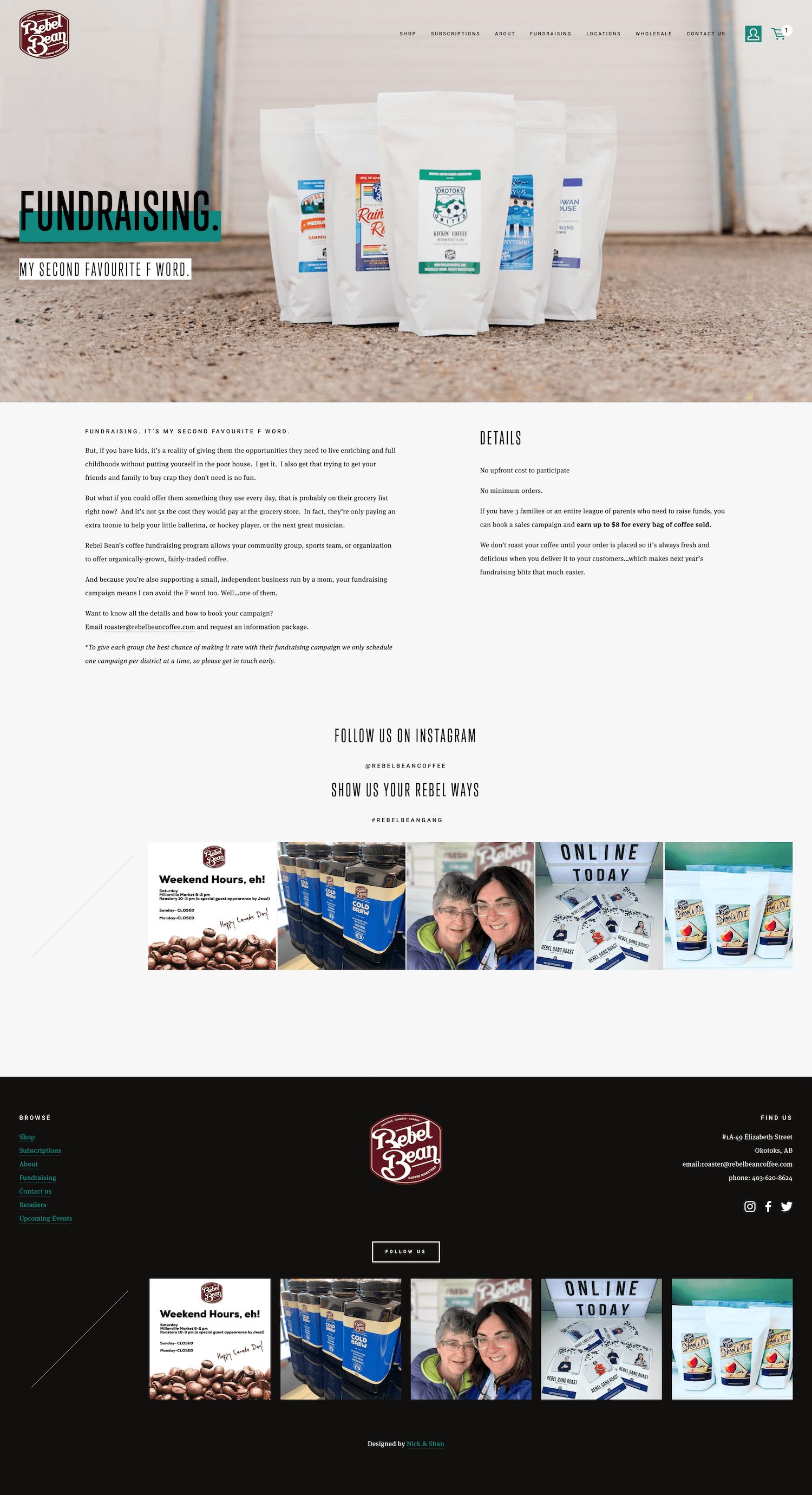 Fundraising-okotoks-coffee