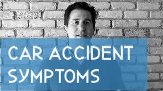 Car Accident Symptoms