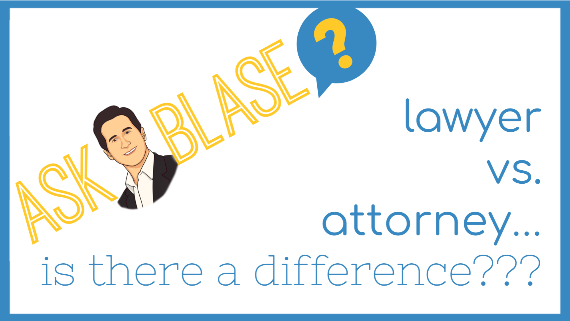Is there a difference between a lawyer and attorney