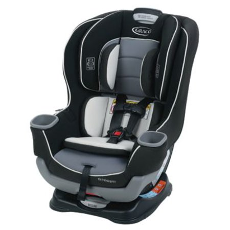The Graco Extend2Fit can keep children rear facing up to 50 pounds!