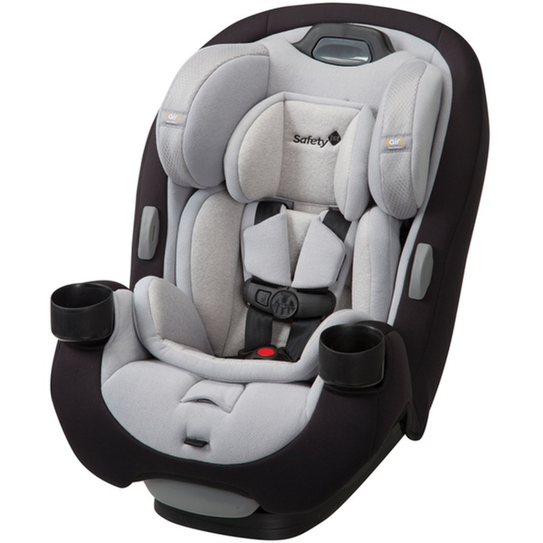 Convertible car seats can be used rear-facing up to a certain weight and then forward-facing longer.