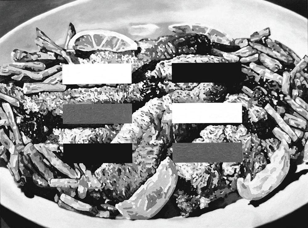 Monochrome Dish