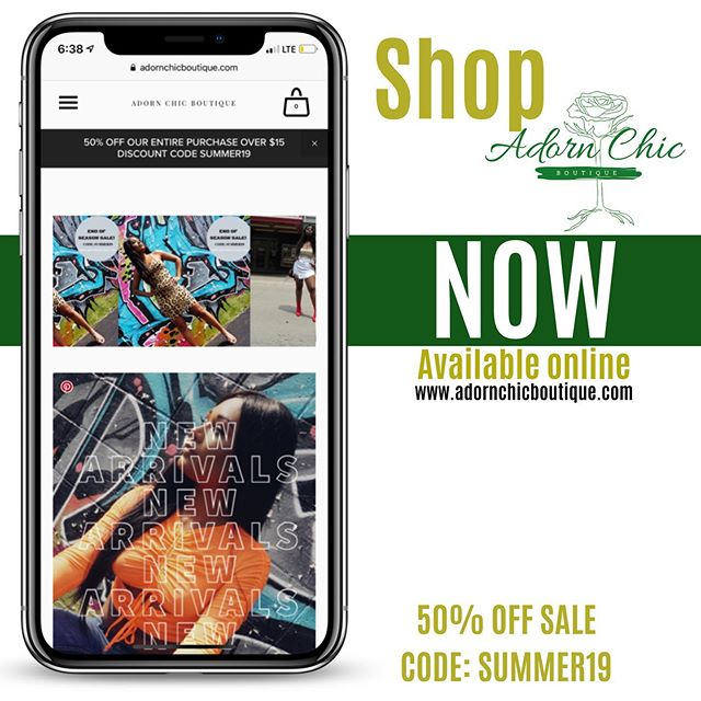 Happy Sunday, don't forget to shop our amazing END OF SUMMER SALE! 👌🏽50% off your entire purchase using the promo code: SUMMER19  Tag your besties so they can save money too.🥂 www.adornchicboutique.com #summersale #womensfashion #adornchic #backtoschool #bikershorts #swimsuit