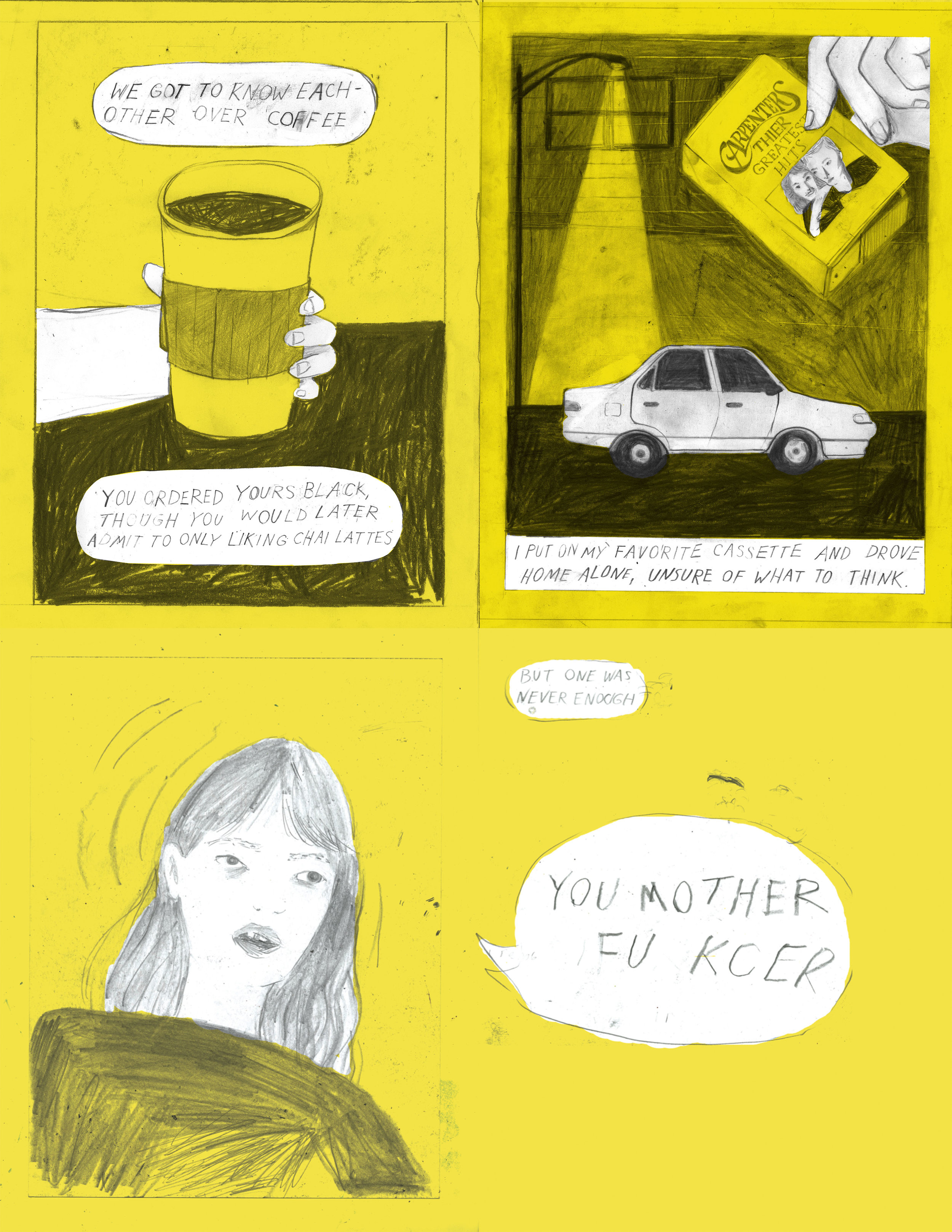yellow comic compliation art car .jpg