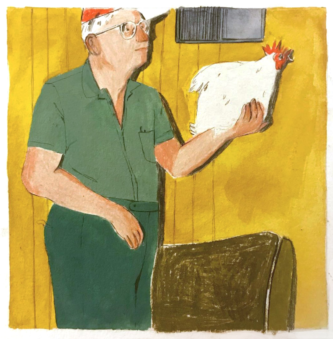 chicken farmer grandpa painting drawing  .jpg