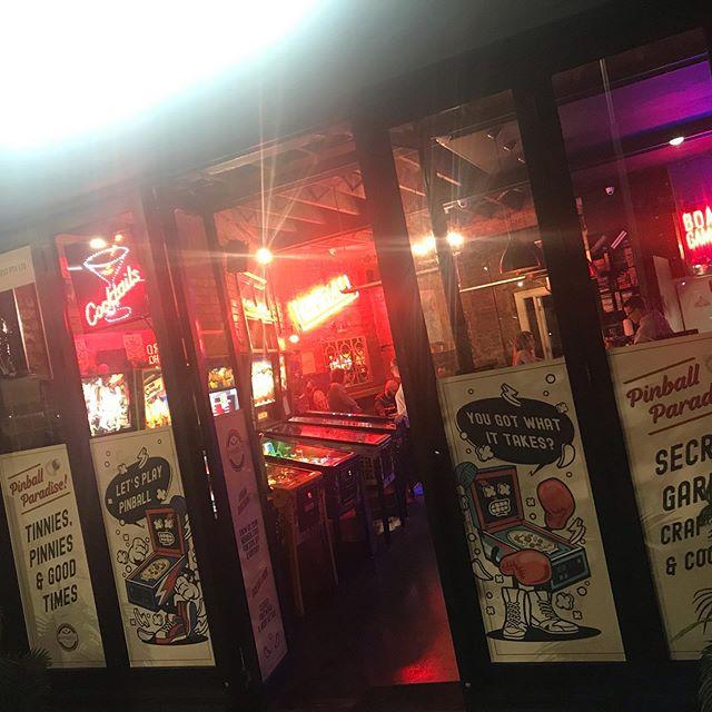 Will we be seeing you tonight?  #pinballparadise #pinball #pinballwizard #pinballlife #fortheloveofarcades #melbourne #melbournenightlife #melbournenights #melb #melbournedrinks #fridaynightdrinks #saturdaynightdrinks