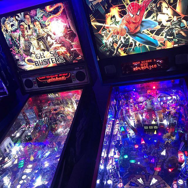 Oldies but goodies.  #pinballparadise #pinball #pinballwizard #pinballlife #fortheloveofarcades #melbourne #melbournenightlife #melbournenights #melb #melbournedrinks #fridaynightdrinks #saturdaynightdrinks