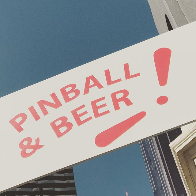 The sign says it all... 🍻🥳 #pinball #pinnies #pinballbar #pinballlife #pinballwizard #pinballparadise #pinballmachine #melbourne #melbournecbd #melbournetodo #melbournelife #melbournebars #paxau #paxaus #paxaus2019 #paxaustralia